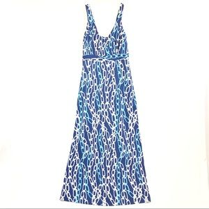 J. McLaughlin Chainlink Maxi Dress